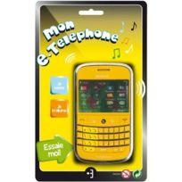 Partner Jouet - A1200080 - Jeu lectronique - Mon E-téléphone Bl