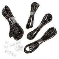 Phanteks - Extension cable 500mm, X-muster Noir/Argent