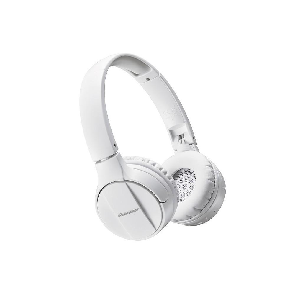 PIONEER Casque arceau Bluetooth - SE-MJ553BT - Blanc