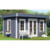 Lekingstore - Chalet de Jardin en Bois Toit Plat 420 x 380 cm 15.96 m² Basel