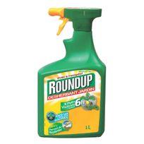 Roundup - désherbant 6h pulvérisateur 1l - 6hs1c