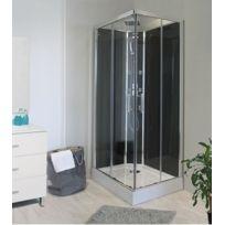 Aqua + - Cabine de douche Carré Selia hydro 80x80 cm