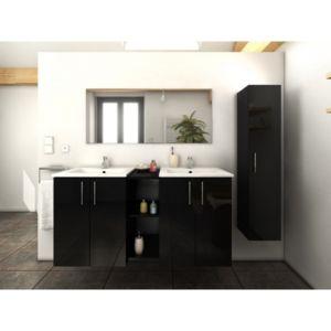 Ma maison mes tendances meuble de salle de bain double - Meuble salle de bain 135 cm ...