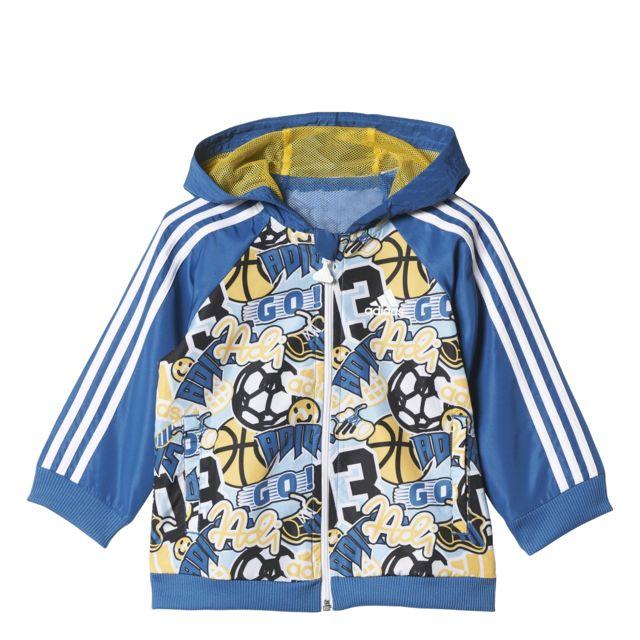 Adidas Ensemble bébé Hooded pas cher Achat Vente