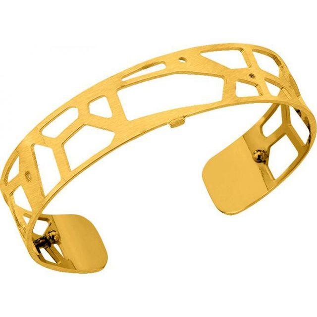 Les Georgettes , Bracelet Girafe 702616501F2 , Bracelet Manchette Or Satine  Taille Small Femme