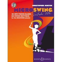 Boosey & Hawkes - Partitions Classique Norton Christopher - Microswing + Cd - Piano Piano Soldes