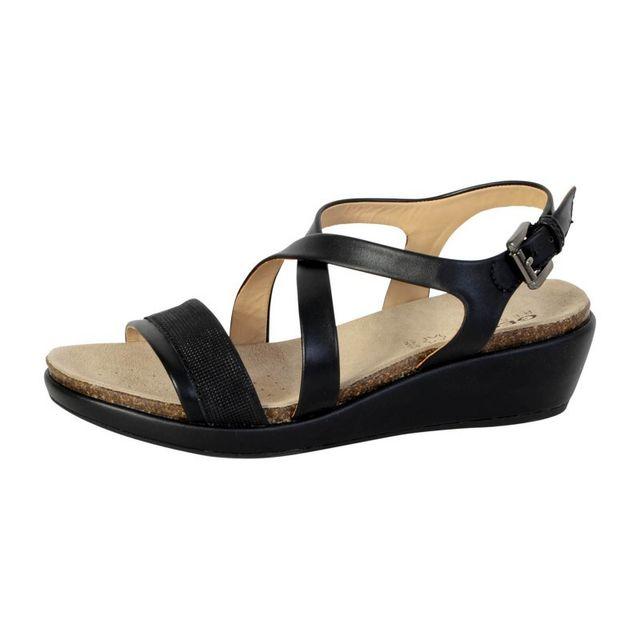 Vente Sandales D72p6a Pas Abbie Sandale Geox Achat Black Cher v8Nwnm0