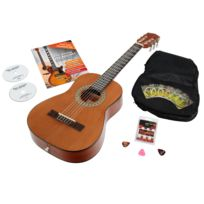 Antonio Calida - Calida Loretta Guitare de Concert 1/2 nature Starter Set