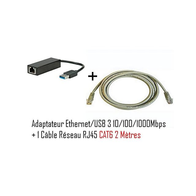 cabling adaptateur usb m le vers connecteur rj45 v3. Black Bedroom Furniture Sets. Home Design Ideas