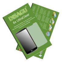 Disagu - Lg G2 Film de protection d'écran - 6x Ultra Clear pour Lg G2
