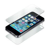 Cabling - Protège-écran en verre trempé 9H - Qualité Premium - pour Apple iPhone 4 4S - Front+Back