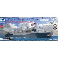 Bronco - 1/350 U.S. And Dock Landing Ship Lpd-22 San Diego JAPAN Import