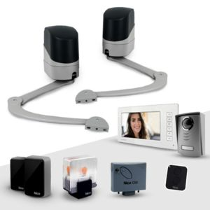 nice motorisation portail popkit interphone vid o avidsen pas cher achat vente. Black Bedroom Furniture Sets. Home Design Ideas
