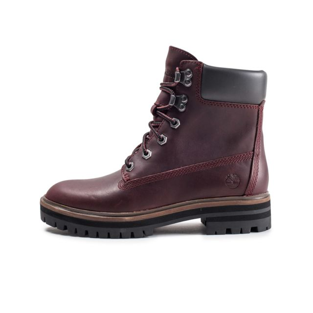 timberland 6 inch femme bordeaux