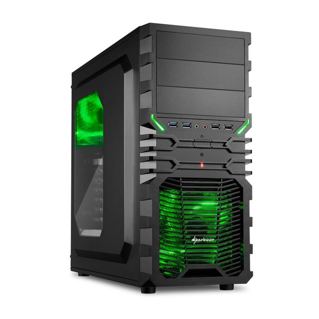 SEDATECH PC Gamer Casual AMD A4-5300 2x3.4Ghz, Geforce GT730 1024Mo, 4Go RAM, 500Go HDD, USB 3.0, Alim 80