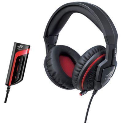ASUS Casque micro gamer ROG Orion Pro Connectique : 2 Jack 3,5 mm Forme : Circum-aural PC : Oui Utilisation : Jeux ...