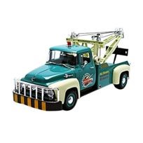 Welly - 19834GR - Ford - F100 Tow Truck - 1956 - ÉCHELLE 1/18