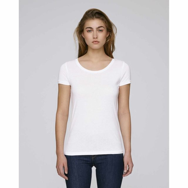 Tee shirt femme modal coton bio col rond