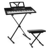ELECTRONIC STAR - Schubert Etude 300 Set Synthétiseur & Casque + Support Banc - noir Electronic-Star