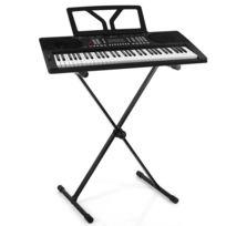 ELECTRONIC STAR - Schubert Etude 300 Set Clavier 61 touches + support - noir Electronic-Star