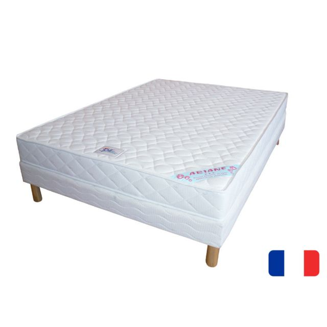 promo matelas ensemble matelas ariane sommier tapissier 120x190 pas cher achat vente. Black Bedroom Furniture Sets. Home Design Ideas