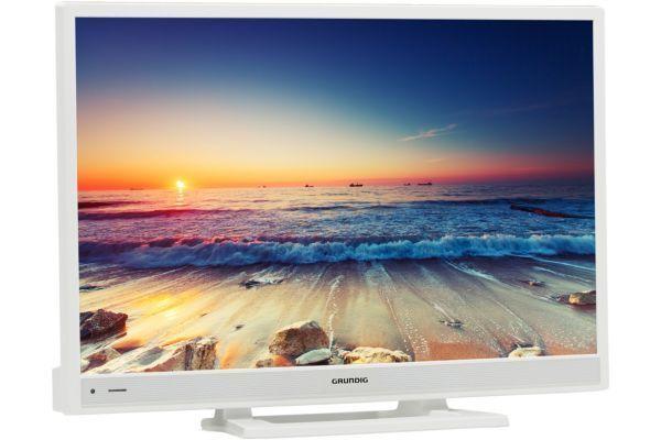 2363f25e90fed3 GRUNDIG TV LED 28VLE5500WG pas cher - Achat   Vente TV LED 32   et moins -  RueDuCommerce