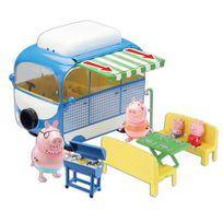PEPPA PIG - EN VACANCES - Le camping-car avec 4 personnages et accessoires - PPH03