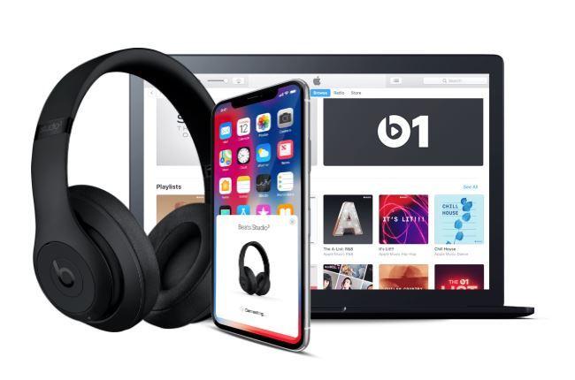 Casque sans fil avec réduction de bruit Studio 3 Wireless Beats Gris