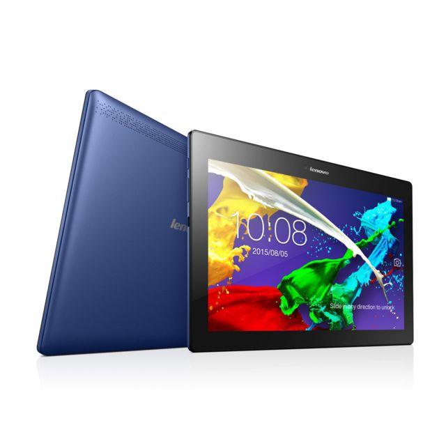 LENOVO Tab 2 A10-30L - 10,1'' - 16Go - 4G - Bleu