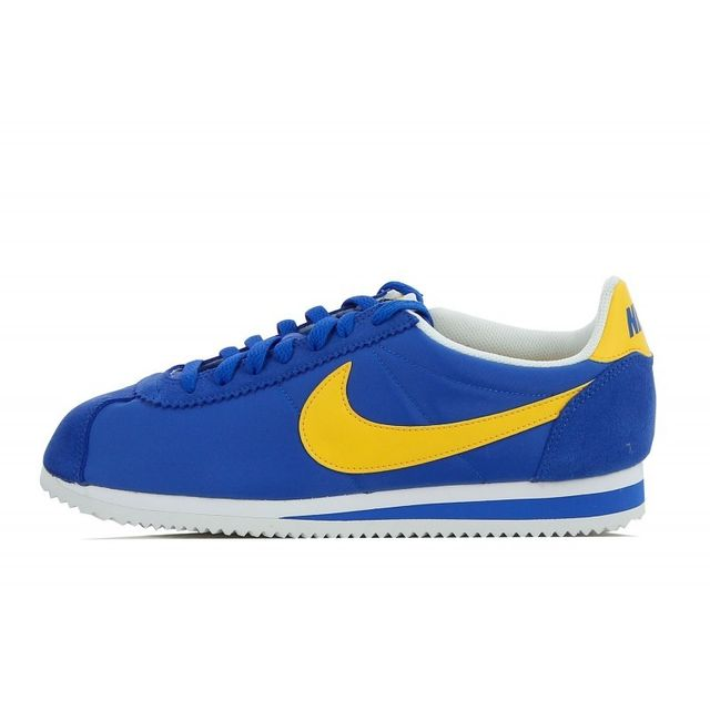 uk availability beb83 98340 Nike - Basket Classic Cortez Nylon - 807472-471 - pas cher Achat   Vente Baskets  homme - RueDuCommerce