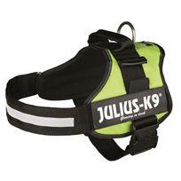 Julius K9 - Harnais Power Julius-K9 - 2 - L-xl : 71-96 cm-50 mm - Vert pastel - Pour chien