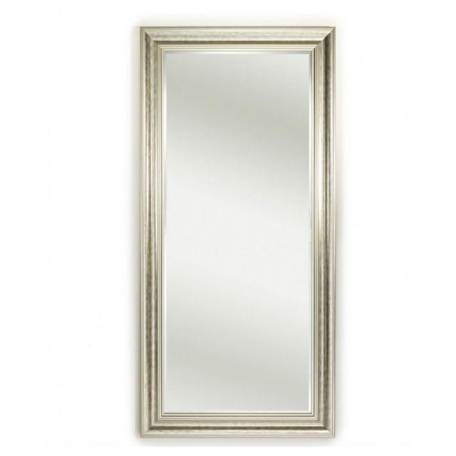 Deknudt Mirrors Miroir Berlin Silver Xl Traditionnel Classique Rectangulaire Argenté 82x172 cm