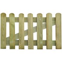 Rocambolesk - Superbe Portillon en bois 100 x 60 cm Neuf