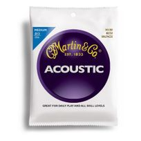Martin - M150 - Jeu de cordes medium 13-56 Guitare acoustique