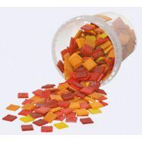 Solargil - mosaique rouge/orange/jaune - seau de 1kg