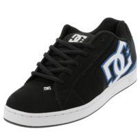 hot sale online f6cf1 d9d81 Dc - Chaussures skateboard shoes Net noir bleu Noir 39400