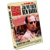 Dvd - J'ai Vu Tuer Ben Barka