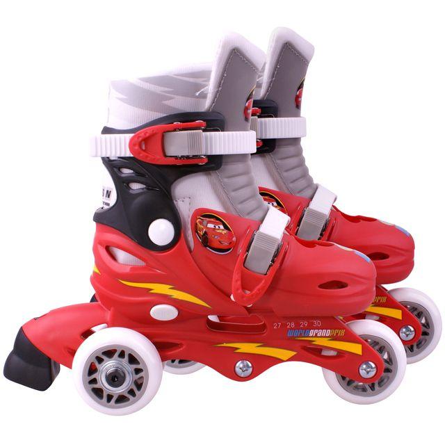 Disney Cars Tri-Skates avec 3 Roues Taille 27-30 réglable