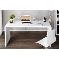 Chloe Design - Bureau design Fatio - blanc - 140