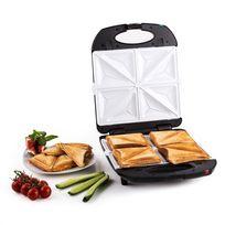 KLARSTEIN - Trinity Sandwich Maker 3-en-1 XXL 1300 W -noir