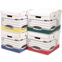 Bankers Box - flash cube assortis - paquet de 12