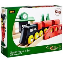 Brio - 33028 Jeu de Construction Circuit en 8 Tradition
