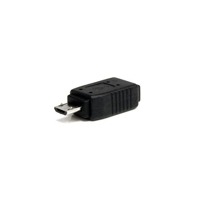 micro usb m le mini adaptateur usb vendu par 717105. Black Bedroom Furniture Sets. Home Design Ideas