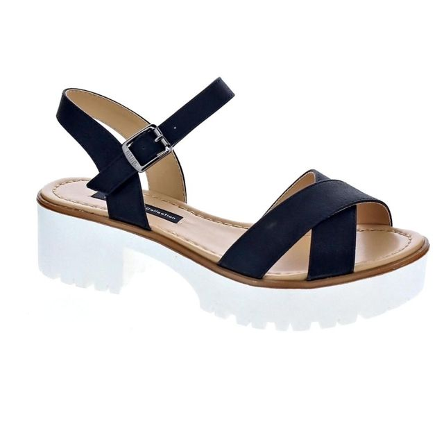 50026 Achat Mustang Sandales Femme Pas Chaussures Cher Modele nPwkO0