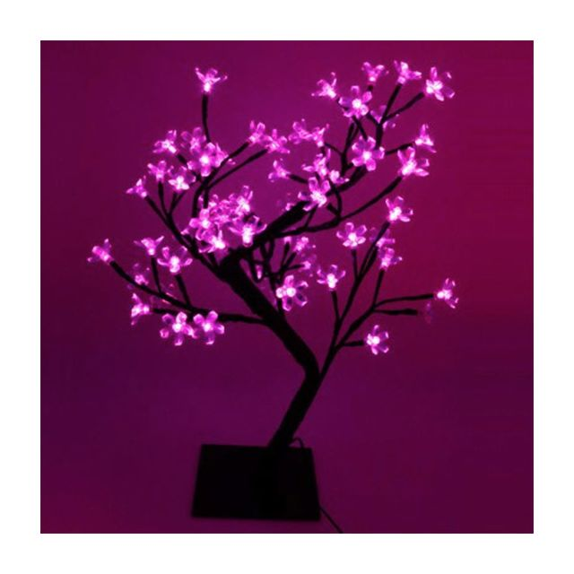 Touslescadeaux Arbre Lumineux - 48 Led - Led Roses