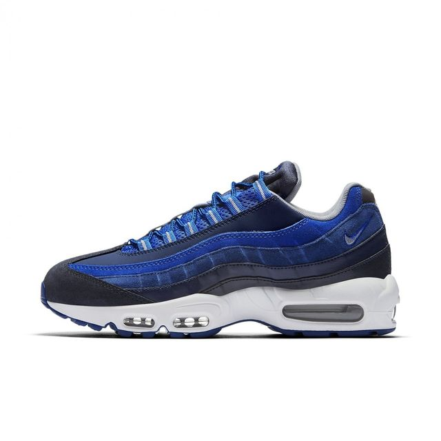 free shipping 26b09 37dca Nike - Basket Air Max 95 Essential - Ref. 749766-405 Bleu - 45 1 2 - pas  cher Achat   Vente Baskets homme - RueDuCommerce