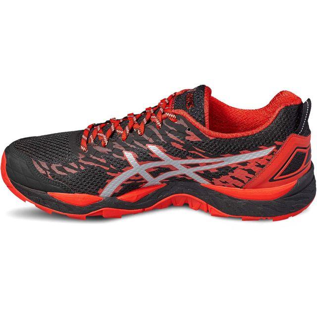 7289777cd02 Asics - Gel-Fujitrabuco 5 - Chaussures de running - rouge noir - pas ...