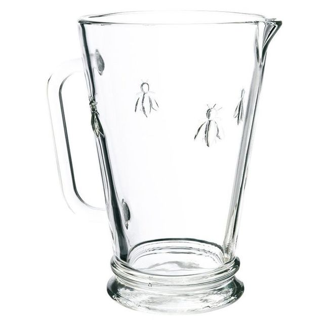 La Rochere Pichet en verre pressé - 1L - Abeille