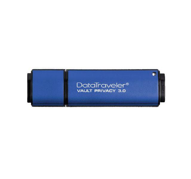 KINGSTON Clé USB 16 Go USB 3.0 DTVP30, 256bit AES Encrypted FIPS 197 Clé USB 16 Go USB 3.0 DTVP30, 256bit AES Encrypted FIPS 197