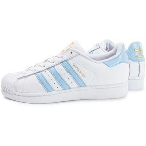 Adidas originals - Superstar Blanc Et Bleu 38
